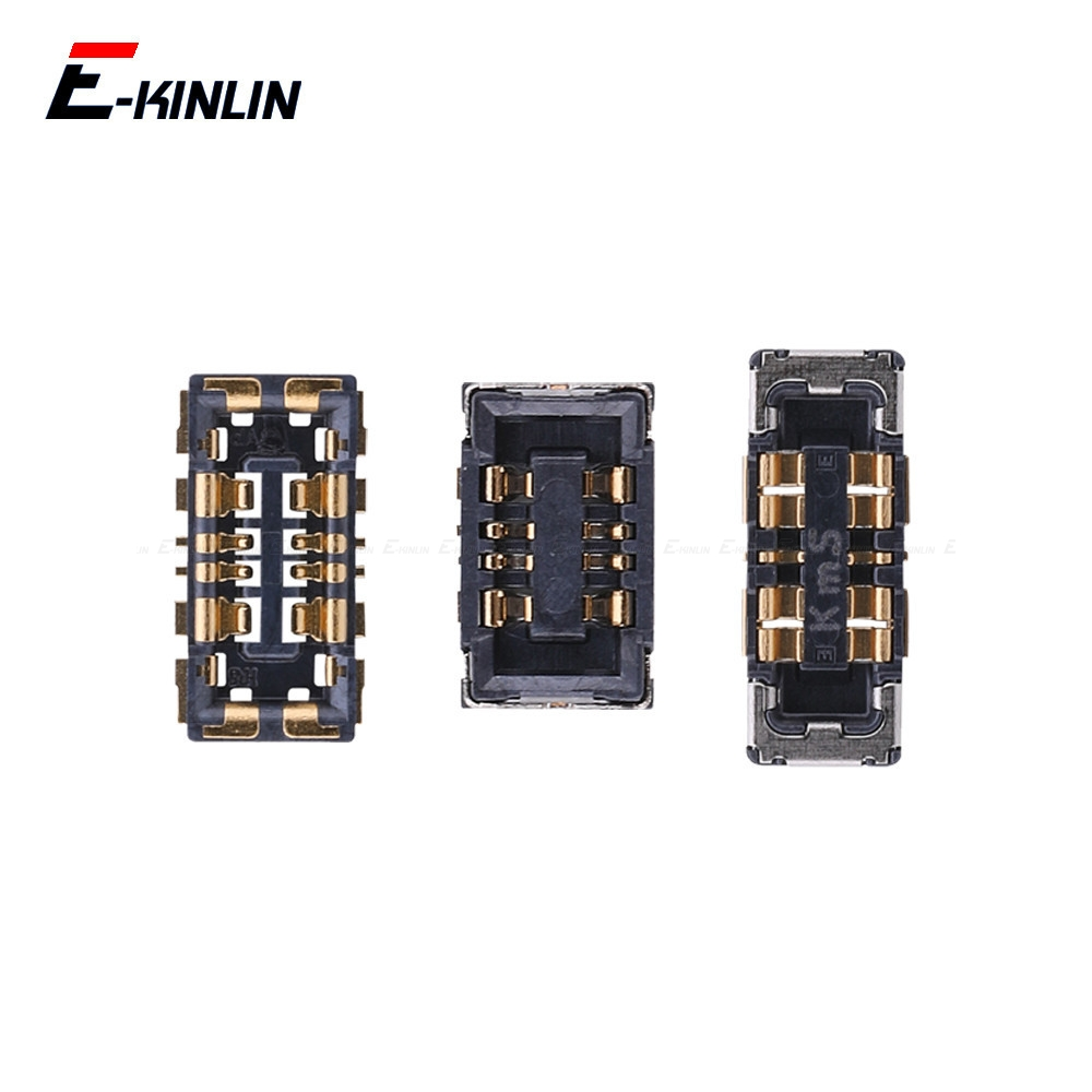 2PCS Inner PFC Battery <font><b>Connector</b></font> Clip Contact <font><b>Repair</b></font> Parts For XiaoMi Mi 4C 4i Mix 2S Max Note 2 Redmi 3 Pro 3S 3X 4A Note 3 image