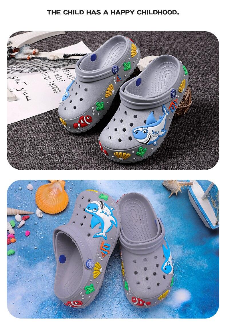 Shark Kids Sandals Boys