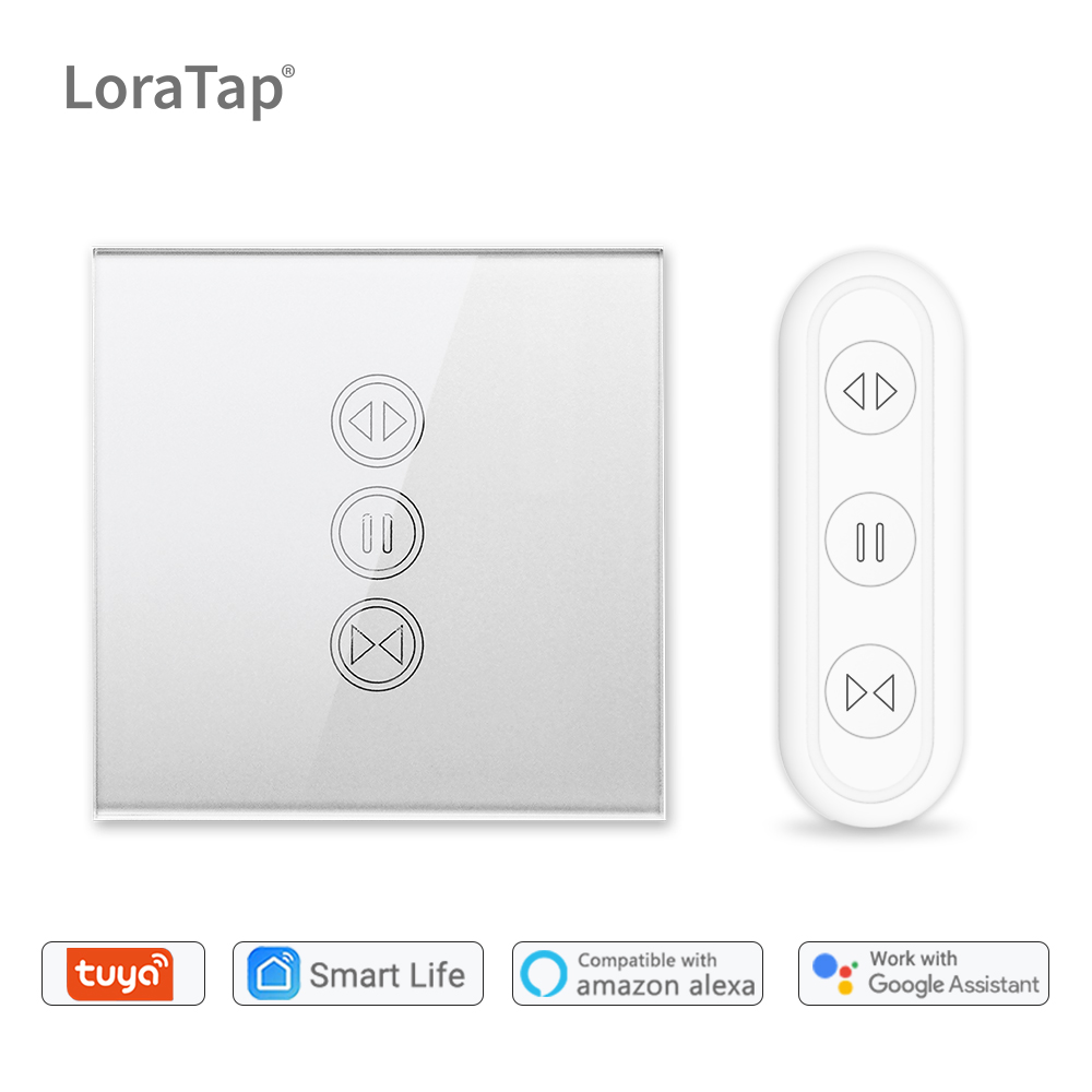 Tuya Smart Life WiFi Roller Shutter Curtain Switch Remote Control Electric Blinds Motor Google Home Aelxa Echo DIY Smart Home