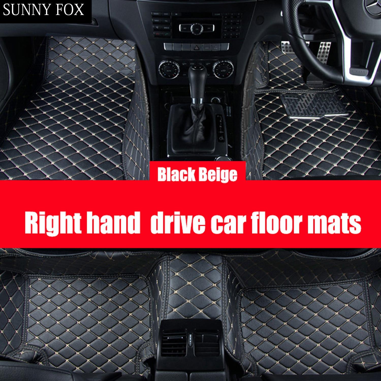 UNIVERSAL Car Floor Mats Black /& BLACK MERCEDES VANEO 2002-2005
