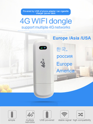 LDW922 3G/4G WiFi Router 4G dongle Mobile Portable Wireless LTE USB modem dongle nano SIM Card Slot pocket hotspot