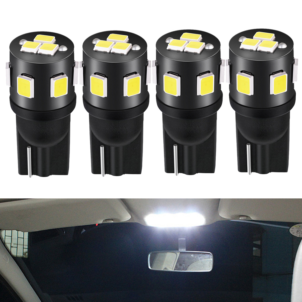 4x W5W T10 <font><b>Led</b></font> 9SMD 2825 <font><b>Led</b></font> Car Reading <font><b>Light</b></font> Interior Bulb for <font><b>Peugeot</b></font> 307 206 <font><b>308</b></font> 3008 407 207 208 508 2008 406 5008 301 106 image