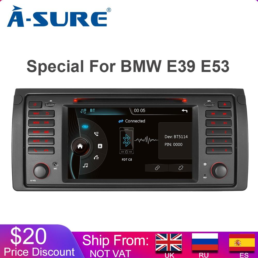 בטוח רדיו לרכב DAB + GPS סטריאו 2 דין Navi עבור BMW X5 E39 E53 E53 E38 5 נגן DVD ניווט סדרה