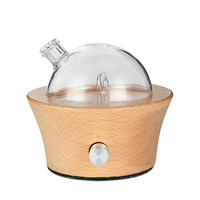 Waterless Aroma Difusor Aromaterapia Aromatherapy Essential Oils Diffusers Nebulizer With Colors Changed Light For Office Us Plu Humidifiers     -