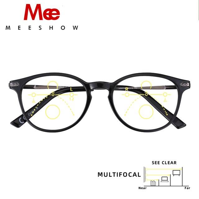 Meeshow Multifocal Mắt Retro Sang Trọng Phong Cách Châu Âu Nữ Kính Mắt Kính Lesebrillen + 1.0 + 1.5 + 2.0 + 2.5 1932