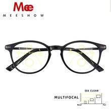 Óculos de Leitura Multifocal Meeshow Lesebrillen Elegante Estilo Retro Europa Mulheres Óculos Óculos + 1.0 + 1.5 + 2.0 + 2.5 1932