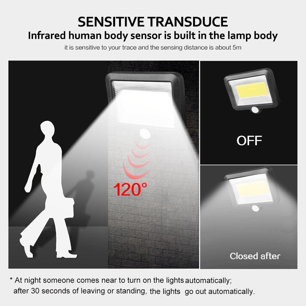 lowest price 30 LEDs Solar lamp Wireless PIR Motion Sensor Street light Solar Charge Outdoor Security Garden Night Decoration Luminaria indoo