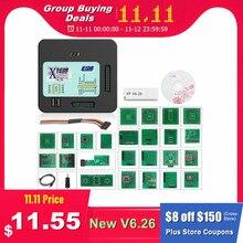 XPROG V6.26 V6.12 V6.17 Add New Authorization V5.86 V5.55 V5.84 X PROG M Metal Box XPROG M ECU Programmer X Prog M Full Adapters