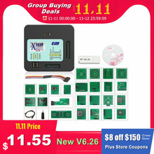 XPROG V6.26 V6.12 V6.17 Aggiungere Nuove Autorizzazione V5.86 V5.55 V5.84 X PROG M Scatola di Metallo XPROG M ECU Programmatore X Prog M pieno SIM Card E Adattatori