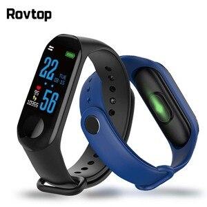 Image 1 - M3 Pro Smart Watch Sport Smart Band Blood Pressure Monitor Smart Wristband Smartwatch Bracelet M3Plus Wristband for Men Women