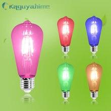=(K)= LED Edison Filament Bulb Retro Edison Bulb E27 220V E14 Vintage Edison Lamp A60/ST64 Candle Lights LED E27 Edison Bombilla