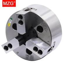 Mzg SB-206 4 5 6 8 Inch 3 Jaw Holle Power Chuck Voor Cnc Draaibank Saai Snijgereedschap Houder Gat bewerking