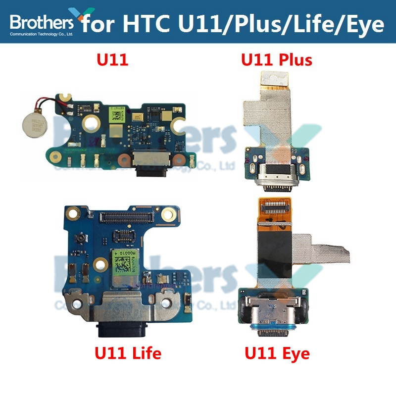 Type-C Charge For HTC U11 U11 Plus Life Eye USB Charging Dock Flex Cable For U11Life U11Eye USB Charger Port Phone Replacement