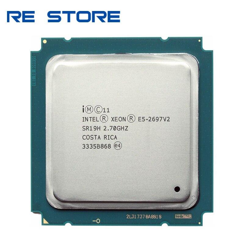 15336.99руб. |Процессор Intel xeon e5 2697 v2 2,7 GHz 30M QPI 8GT/s LGA 2011 SR19H C2 E5 2697 v2 процессор 100% нормальная работа|ЦП| |  - AliExpress