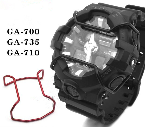 Free Shipping 1pc GA-700/735/710 Wire Guard Protector 5 Colors To Select For G/ Shock