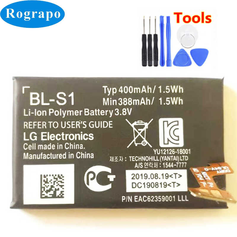 Новинка 400 мАч BL S1 BLS1 батарея для LG G Watch W100 W100KT оригинальный аккумулятор