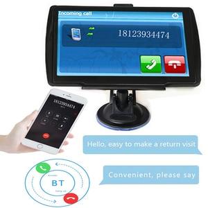 Image 3 - 5 inch HD CarGPS Navigator FM Bluetooth 256BM + 8G Navitel 2019 latest European map satellite Navigatlon truck GPS navigation ac