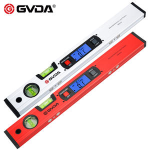 GVDA Digital Inclinometer Protractor Electronic Spirit level Bubble Box 360 degree Magnetic