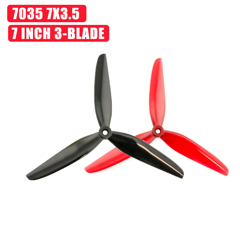 12 Pairs HQProp DP7X3.5X3V1S Durable 7035 7x3.5 7 Inch 3-Blade Propeller For RC Drone FPV Racing DIY Accessories