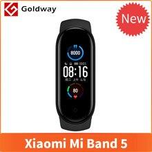 Pulsera inteligente Xiaomi Mi Band 5, reloj inteligente deportivo Xiaomi Mi Band 5 con control del ritmo cardíaco y pantalla táctil a 4 colores
