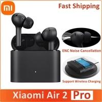 Xiaomi-auriculares TWS Air 2 Pro Mi Air2 Pro, inalámbricos, Bluetooth, ENC, cancelación activa del ruido, LHDC, Control de pulsación con 3 micrófonos
