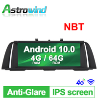 10.25 4G RAM 64G ROM Android 10.0 Car Audio Video Media Stereo GPS For BMW 5 Series F10 F11 2013 2014 2015 2016 2017 NBT