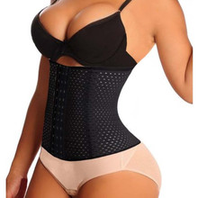 Corset Girdle Cincher-Control Slimming-Belt Waist-Trainer Body-Shaper Tummy-Burner Stretch-Steel-Bone