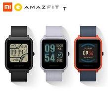 ساعة Huami Amazfit Bip الذكية ضد الماء IP68, تعمل بتقنية بلوتوث وجي بي إس وقياس معدل ضربات القلب، ومُذكر للاتصال، وتطبيق MiFit، واهتزاز المنبه