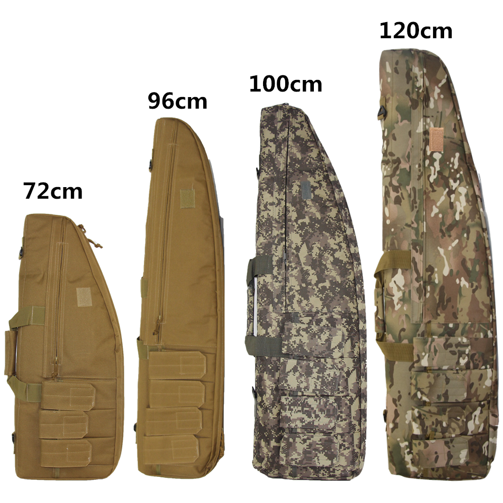 Military Airsoft Sniper Gun Carry Rifle Case Tactical Gun Bag Army Backpack Target Support Sandbag Shooting Hunting Accessories