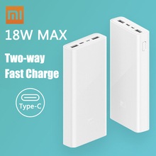 Xiaomi Original Mi Power Bank 3 2C 20000mAh USB-C 18W Two-Wa
