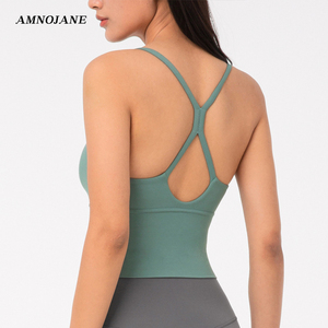 Water Droplets Back Sports Bra