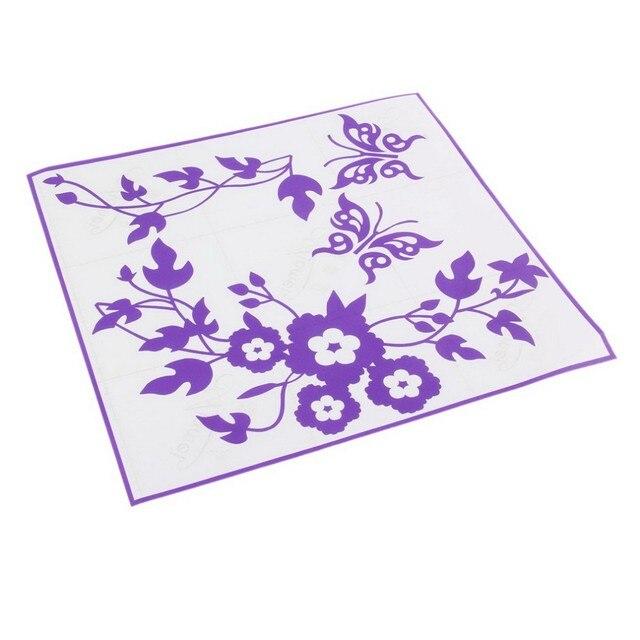 Butterfly Flower Toilet Stickers 10