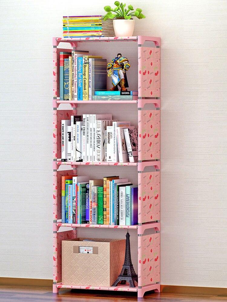 COSTWAY Storage-Shelve Book-Rack Bookshelf Librero Home-Furniture Children Estanteria