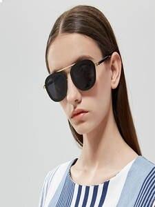 Sunglasses Women Futuristic Rihanna New-Products Gg Socks Classic Round Uv400 Black Colors