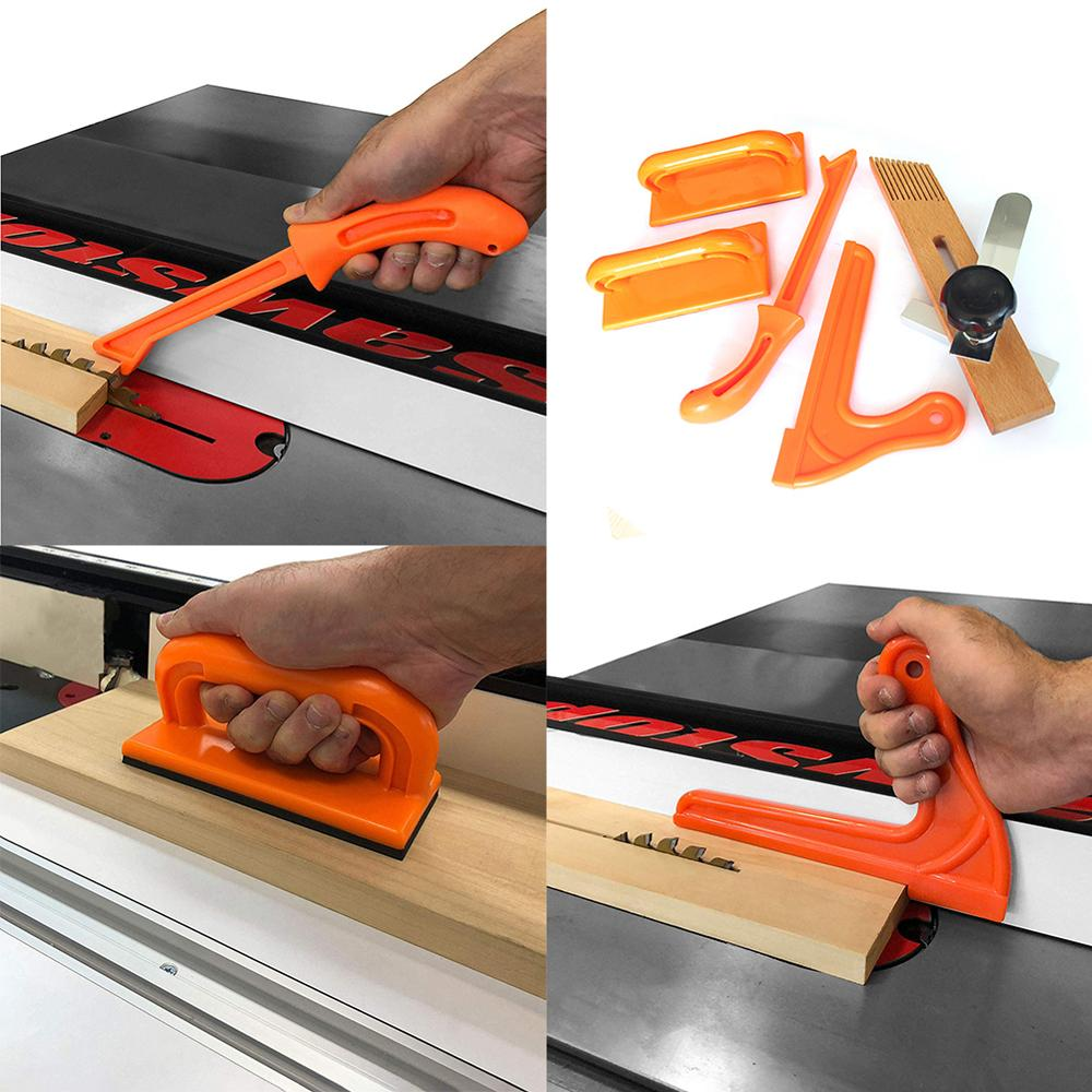 Safety Push Stick Hand Protection Sawdust Wood Saw Push Stick Set Woodworking Carpentry Table Working Wood To Prevent Kickbacks