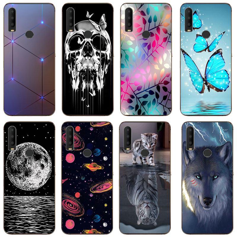 Patterned Case for Alcatel 3X 2019 5048U 5048Y Soft TPU Case Phone Back Cover for ALCATEL 3X 3 X 2019 Funda Coque image
