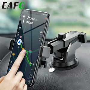 Image 2 - אוניברסלי רכב טלפון Stand אנכי שמשה קדמית הכבידה פרייר נשלף מתקפל וrotatable טלפון בעל