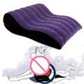 Надувная подушка на танкетке для дивана  надувная подушка для поддержки любовных позиций  помощь  мебель  кресло  пара  любит игры  игрушки