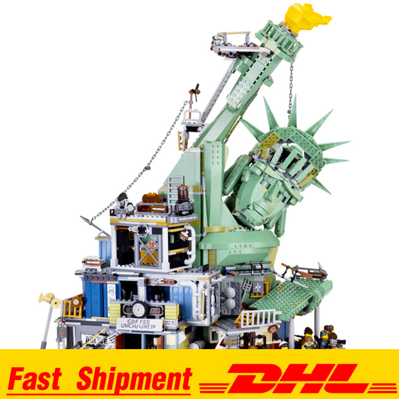 2019 DHL IN Stock 3560 Pcs 45014 Compatible <font><b>70840</b></font> Welcome To APOCALYPSEBURG Set Building Blocks Bricks Kids Toys image