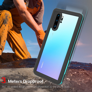 Image 4 - Waterproof Case for Huawei P30 Pro Mate 20 Pro Cover Shockproof Dustproof Swim Case For Huawei P20 Lite P20 Pro Underwater Case