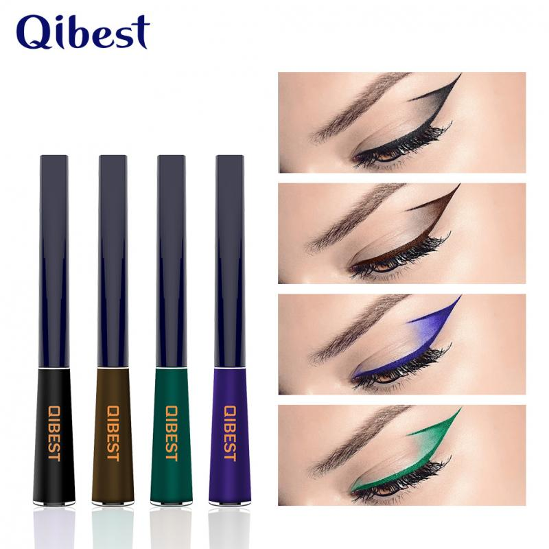 12 Color Matte Eyeliner Liquid Pen Waterproof Long Lasting Quick Drying Smooth Sexy Charming Eyeliner Pen Makeup Tool TSLM2