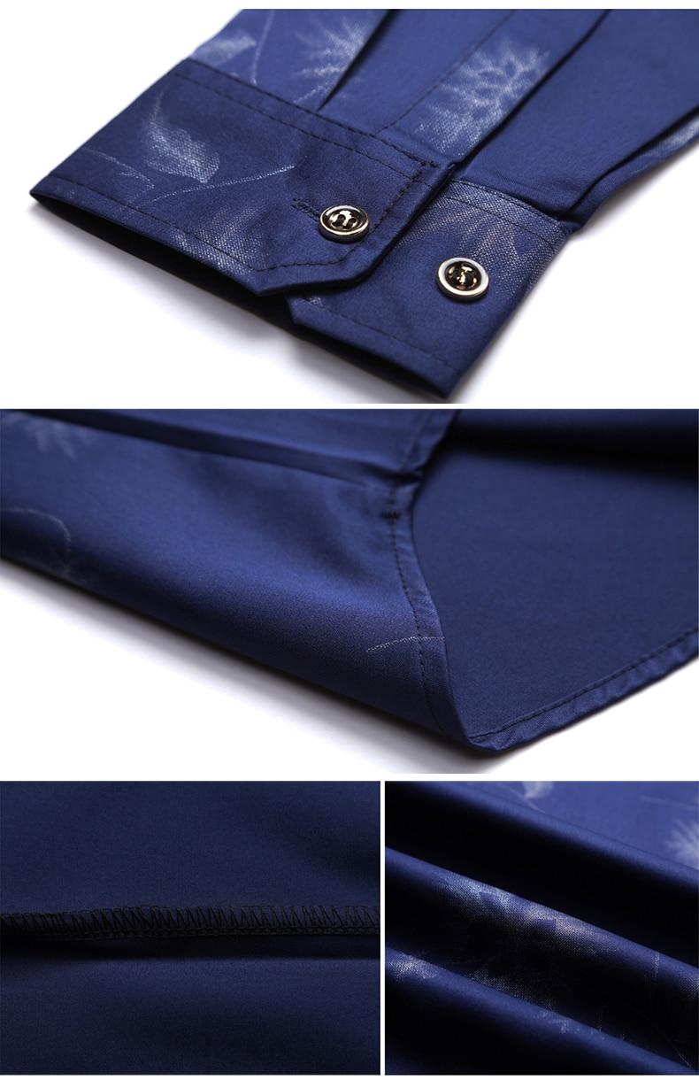 Hcc65db52a70f4618983fd67d5fccd843j 2020 Brand Long Sleeve Men Social Shirt Streetwear Casual Dandelion Shirts Dress Mens Slim Regular Fit Clothes Fashions 80503