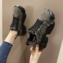 BIGFIRSE נשים נעליים יומיומיות מגמת גומי אישה אופנה נעל גופר נעלי Zapatillas Mujer 2020 אופנה נעלי נשים