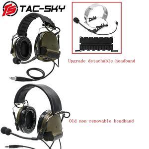 Image 4 - COMTAC III TAC SKY COMTAC comtac iii silicone earmuffs earphone noise reduction pickup military tactical headset C3FG