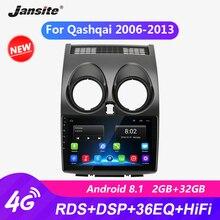 """Jansite 9 """"R9 Android araba radyo Nissan Qashqai 2006 2013 için RDS DSP oyuncu dokunmatik ekranı 2G + 32G multimedya oynatıcılar çerçeve ile"""