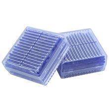2 шт Синий указывающий силикагель осушитель влаги для поглощения коробка многоразового использования