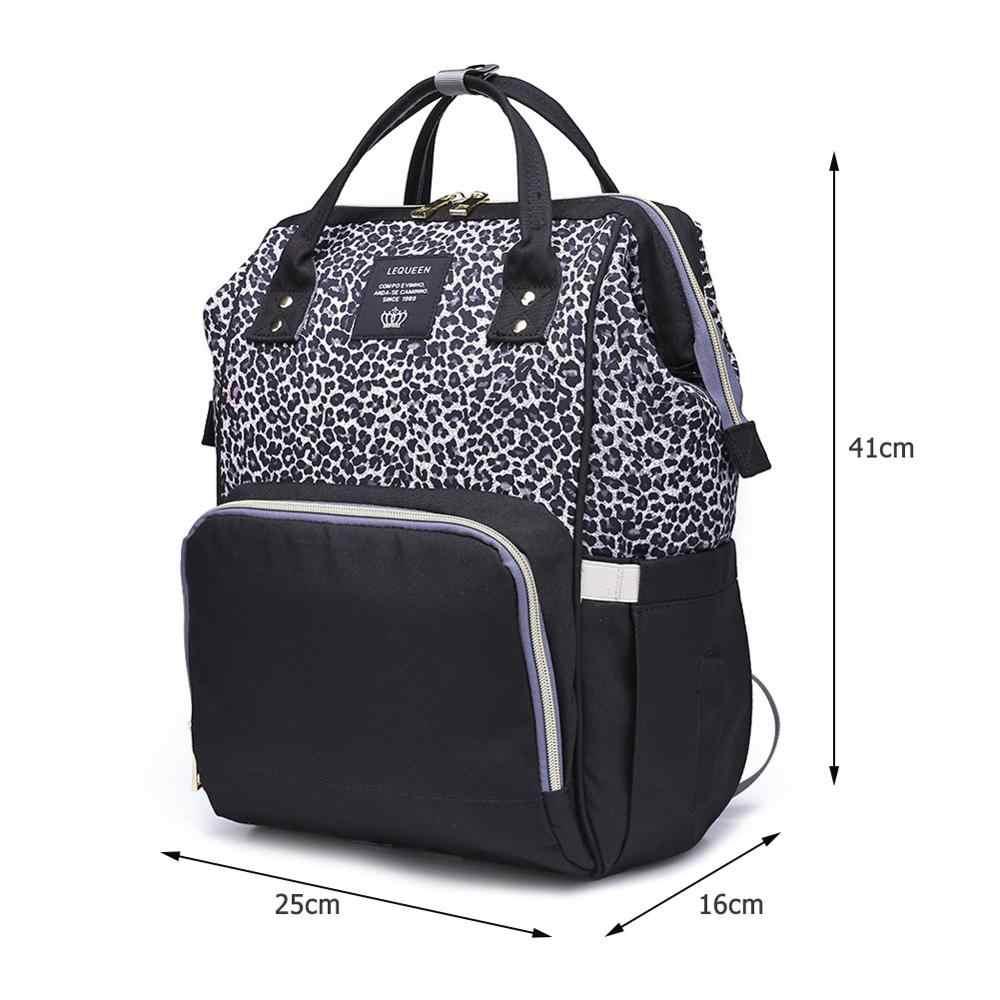 Fashion Mummy Maternity Nappy Bag Large Capacity Baby Bag Outdoor Travel Nursing Backpack For Mom Desinger Bag Baby Organizer