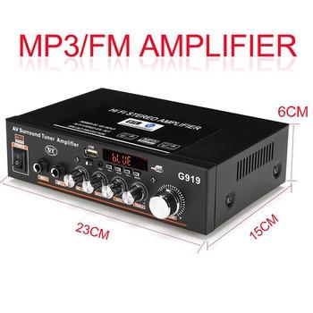 360W G919 Mini Stereo Power Amplifier   6