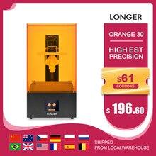 Longer orange 30 sla impressora 3d com alta precisão 2 k lcd kit de impressora 3d com matriz resina uv led corpo de metal completo impressão 3d 3D Drucker Printer 3d