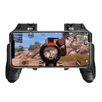 L1 R1 Game PUBG Fire Metal Button Game Joystick 4.7-6.5 inch Sensitive Shoot Trigger PUBG Mobile Phone Controller